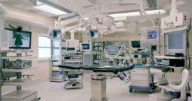 Salas de cirugía en vidrio