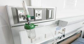 5 componentes del sistema para flujo de gases hospitalarios