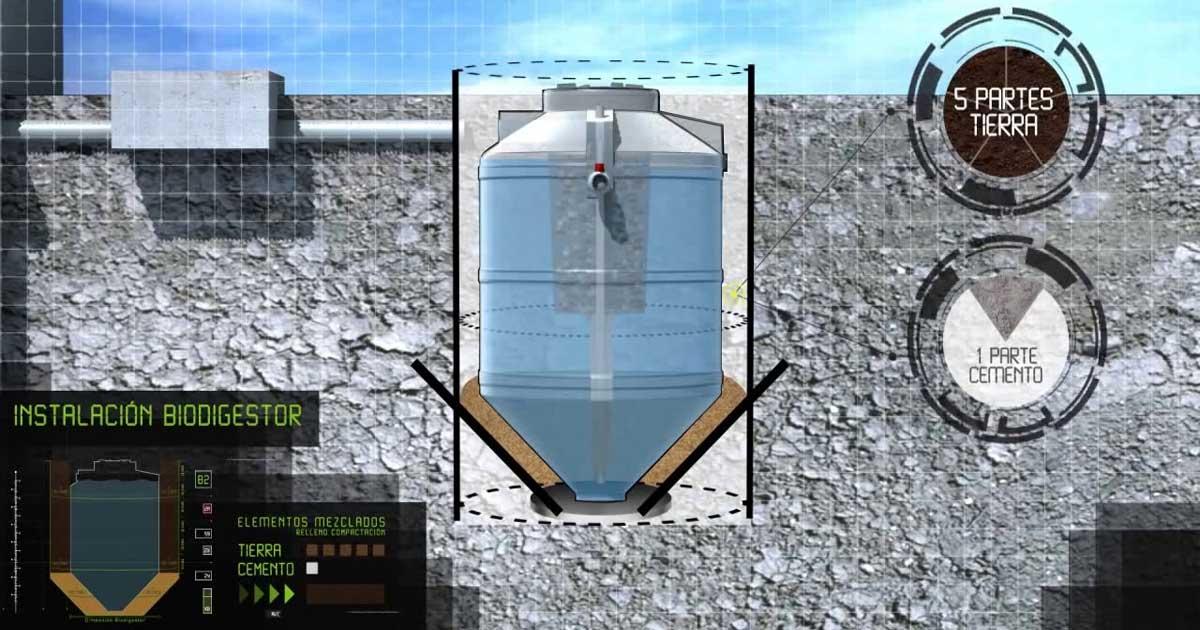 Biodigestor la tecnología para reducir los residuos orgánicos