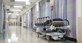 Claves en la limpieza de cortinas de hospital