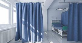 ¿Cuándo se deben cambiar las cortinas de hospital?