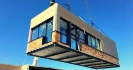 ¿De qué material están hechos los edificios modulares?