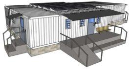El Futuro De La Construcción Son Las Áreas Hospitalarias Móviles Prefabricadas