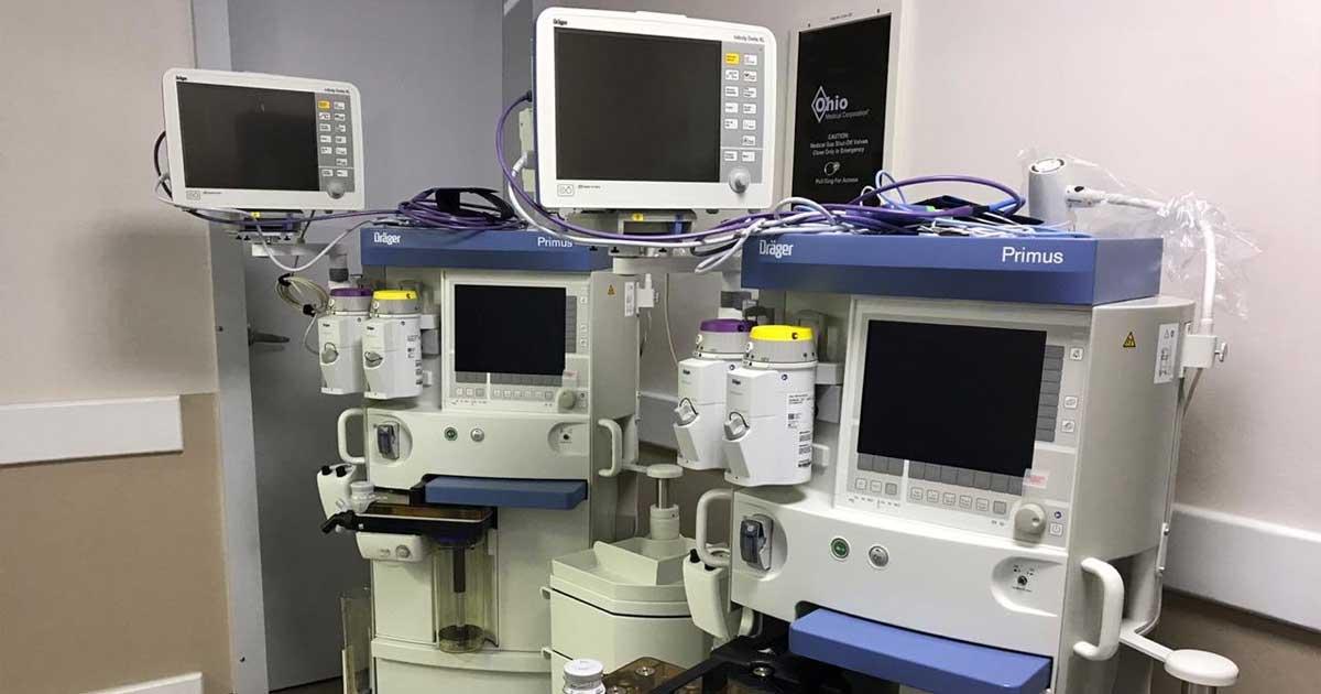 ¿Es posible mantener un equipo de anestesia como nuevo?