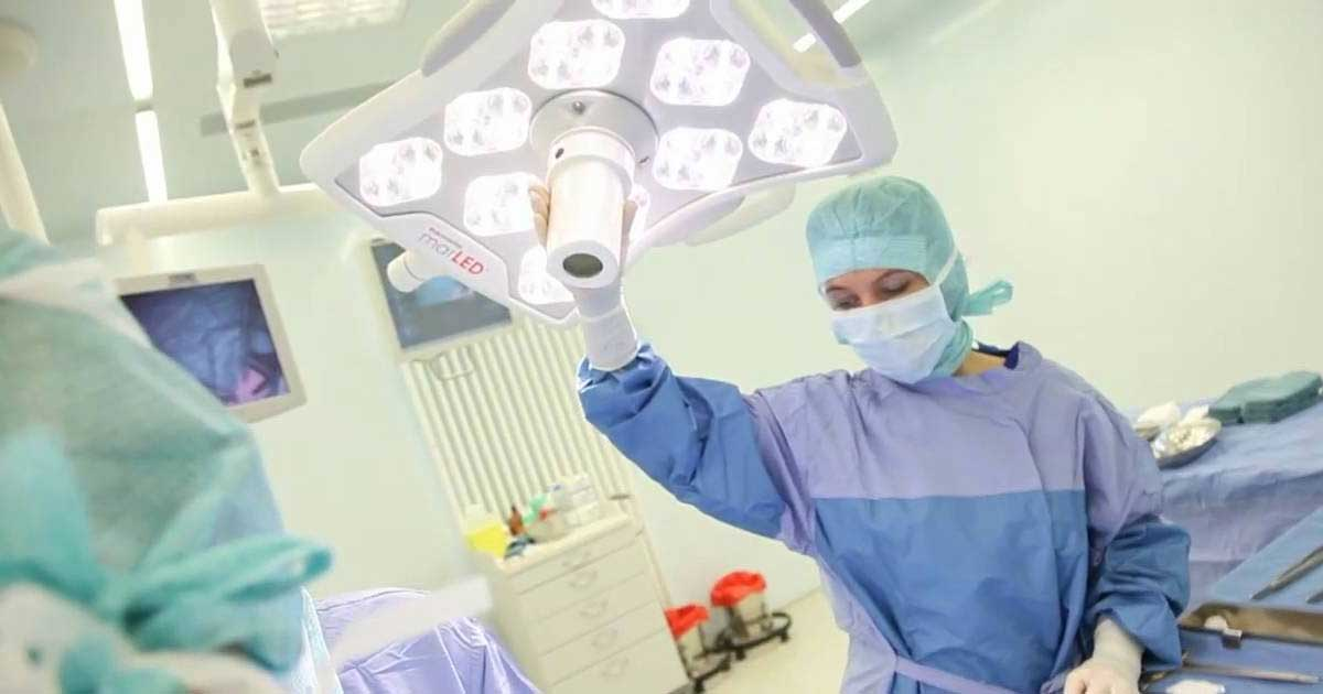 La iluminación LED una excelente opción para un quirófano