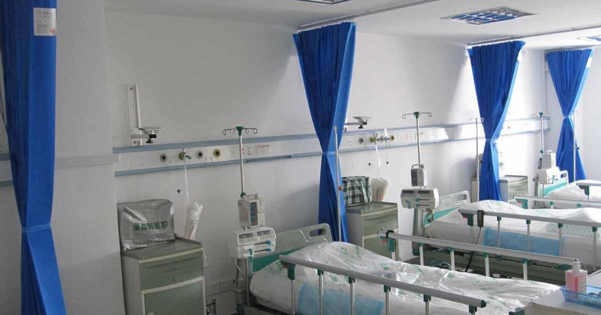Las cortinas de hospital pueden propagar infecciones serias