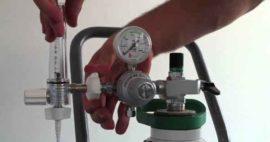 Manejo Seguro de Botellas o Cilindros de Gases Hospitalarios