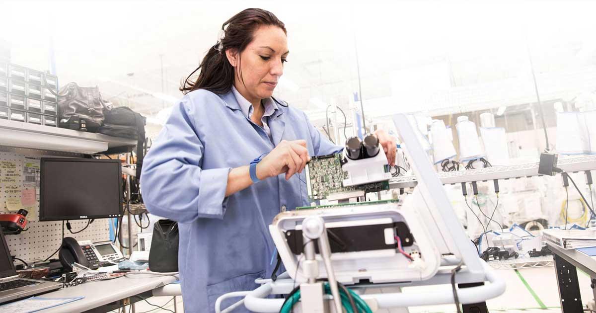 Mantenimiento y reparación de equipos médicos para hospitales