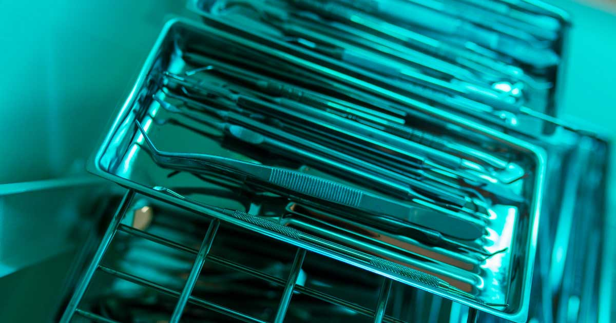 Métodos de esterilización de equipos e instrumentos de laboratorio