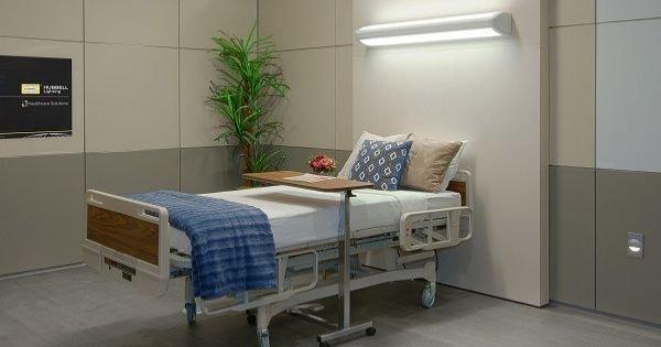 Módulo de iluminación adecuado en el cuarto de un paciente ...