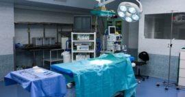 Organización y distribución de una sala de cirugía