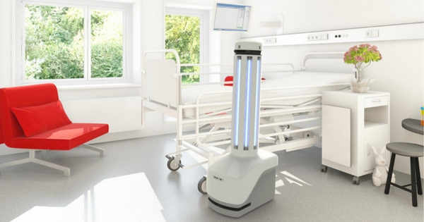 Robot Limpiador Reduce Infecciones En Espacios Sanitarios