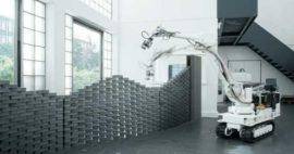¿Robots Apoyan Construcción Prefabricada De Entornos Sanitarios?