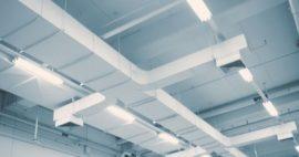 Sistema de ventilación de un laboratorio químico