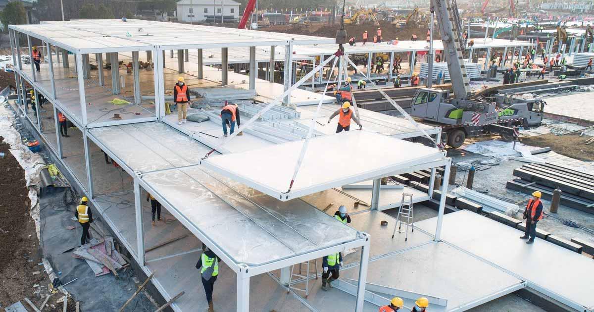 Tendencia al alza en la construcción prefabricada de hospitales
