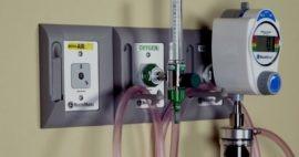 Tomas para gases médicos, un equipo hospitalario básico