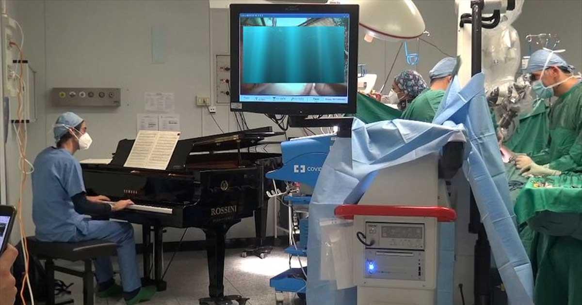 Uso de música como parte de la terapia de rehabilitación